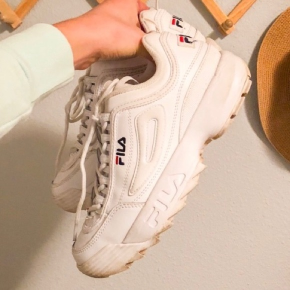 Fila Disruptor 2 White Sneakers